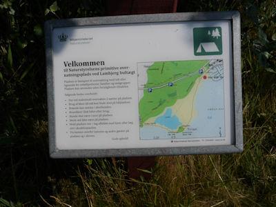 naturlagerplätze dänemark karte Naturlagerplätze Dänemark und freies Zelten in Wäldern