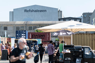 Street Food Markt Reffen by CPH Street Food in Kopenhagen