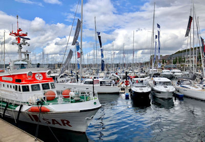 Flensburg Boat Show - InWater Boat Show in der Sonwik Marina